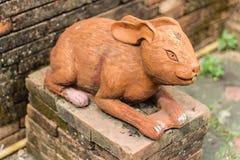 Estatua de la rata Fotos de archivo