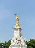 Estatua de la reina Victoria Memorial Imágenes de archivo libres de regalías