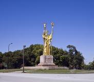 Estatua de la república Fotografía de archivo