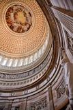 Estatua de la Rotonda Washington de Lincoln de la bóveda del capitolio de los E.E.U.U. Imagen de archivo libre de regalías