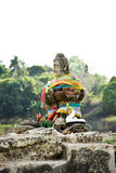 Estatua de la ruina de Buda Fotos de archivo libres de regalías