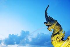Estatua de la saga en la igualación de Songkhla Fotografía de archivo libre de regalías