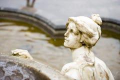 Estatua de la señora imagen de archivo
