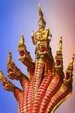 Estatua de la serpiente Fotos de archivo