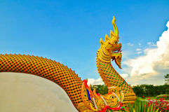 Estatua de la serpiente Fotos de archivo libres de regalías