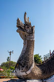 Estatua de la serpiente en el templo Fotografía de archivo
