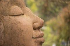 Estatua de la sonrisa Foto de archivo libre de regalías