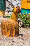 Estatua de la terracota. Imagenes de archivo