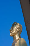 Estatua de la torre Eiffel de Gustavo Eiffel Foto de archivo