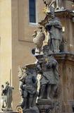 Estatua de la trinidad santa, Veszprem, Hungría Fotos de archivo