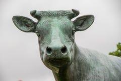 Estatua de la vaca Imagen de archivo