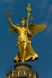 Estatua de la victoria en Berlín imagen de archivo