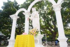 Estatua de la Virgen Imagen de archivo libre de regalías