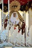 Estatua de la Virgen Maria Fotos de archivo