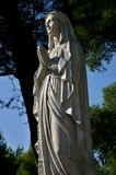 Estatua de la Virgen Maria Imagen de archivo libre de regalías