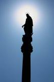 Estatua de la Virgen Maria bendecida Foto de archivo libre de regalías
