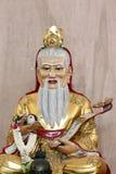 Estatua de las deidades chinas. Fotografía de archivo