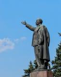 Estatua de Lenin en Ryzan Imagen de archivo
