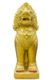 Estatua de Leo Imagen de archivo libre de regalías