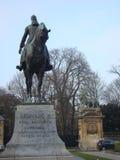 Estatua de Leopold II Imágenes de archivo libres de regalías