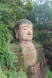 Estatua de Leshan Buda fotos de archivo