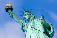 Estatua de Liberty New York American Symbol los E.E.U.U. Fotografía de archivo