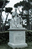 Estatua de Lord Byron Imagenes de archivo