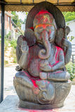 Estatua de Lord Goddess de Hindus Imagen de archivo libre de regalías