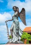 Estatua de los ángeles Imagen de archivo libre de regalías