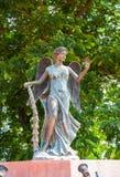 Estatua de los ángeles Imágenes de archivo libres de regalías
