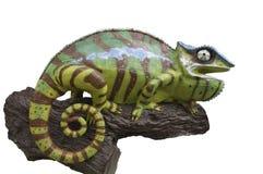 Estatua de los camaleones Fotografía de archivo libre de regalías