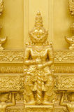 Estatua de los gigantes del oro Fotografía de archivo