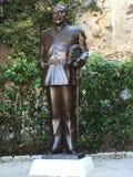 Estatua de los palais del príncipe Fotografía de archivo