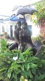 Estatua de los pares del amor en kandy, Sri Lanka foto de archivo