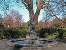Estatua de los sinos de Dublín Imagen de archivo libre de regalías