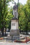 Estatua de Ludovit Stur en Levoca Imagenes de archivo