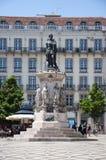 Estatua de Luis de Camoes Fotos de archivo