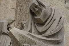 Estatua de luto Fotos de archivo libres de regalías