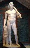 Estatua de mármol romana de Apolo fotos de archivo libres de regalías