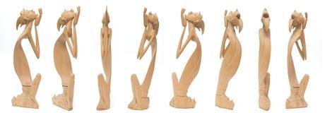 Estatua de madera Fotos de archivo libres de regalías