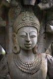 Estatua de madera de Tailandia Foto de archivo