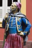 Estatua de madera militar del vintage, Manaus, el Brasil imagen de archivo libre de regalías