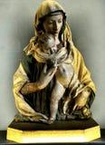 Estatua de Madonna de Donatello Fotografía de archivo libre de regalías