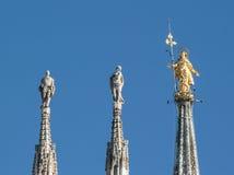 Estatua de Madonnnina Foto de archivo