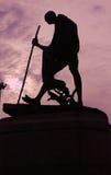 Estatua de Mahatma Gandhi fotos de archivo libres de regalías