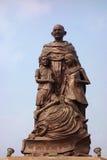 Estatua de Mahatma Gandhi fotografía de archivo