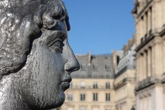 Estatua de Maillol imagenes de archivo