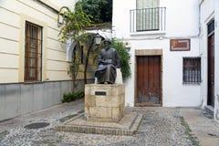 Estatua de Maimonides en Córdoba, España. Imágenes de archivo libres de regalías