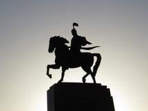 Estatua de Manas fotos de archivo libres de regalías