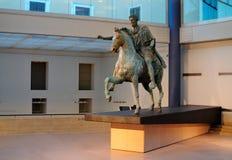 Estatua de Marco Aurelius, Roma Imagen de archivo libre de regalías